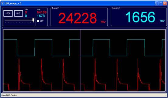 Программа для usb осциллографа
